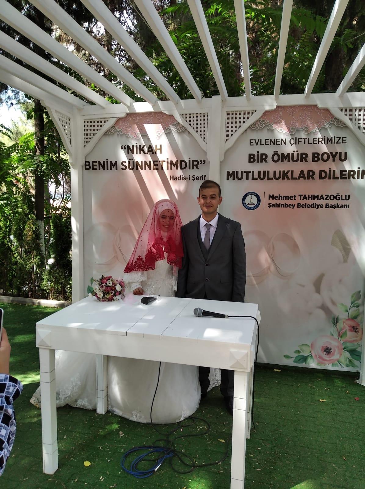 Abdullah Alıcıoğlu ile Meltem Şahin evlendiler