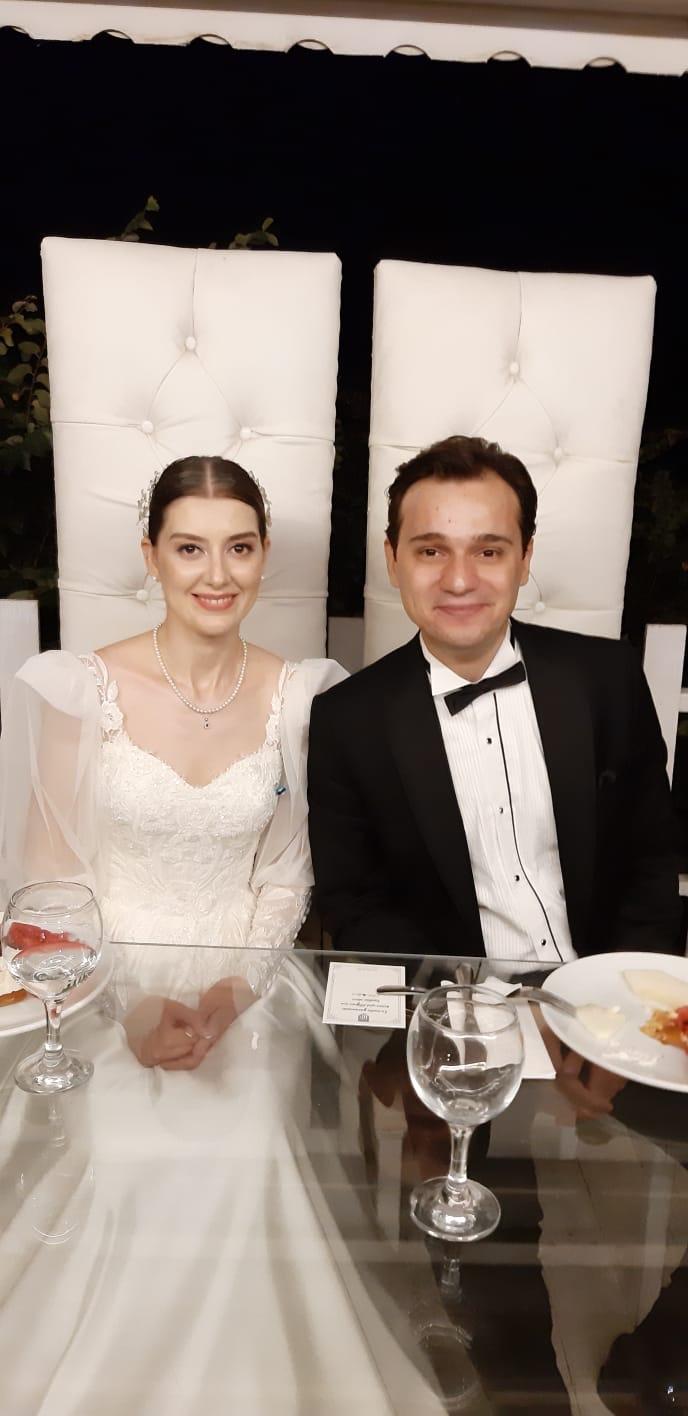 Melike Aktaş yaşamını Berk Özdemir ile birleştirdi