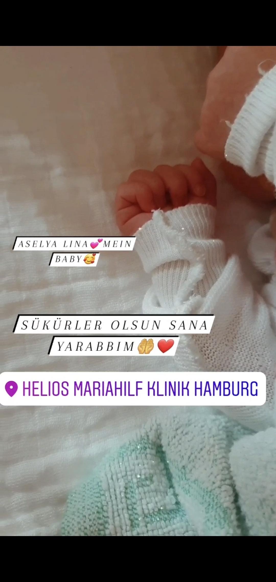 Halide – Sadık Adıgüzel çiftinin bebekleri oldu